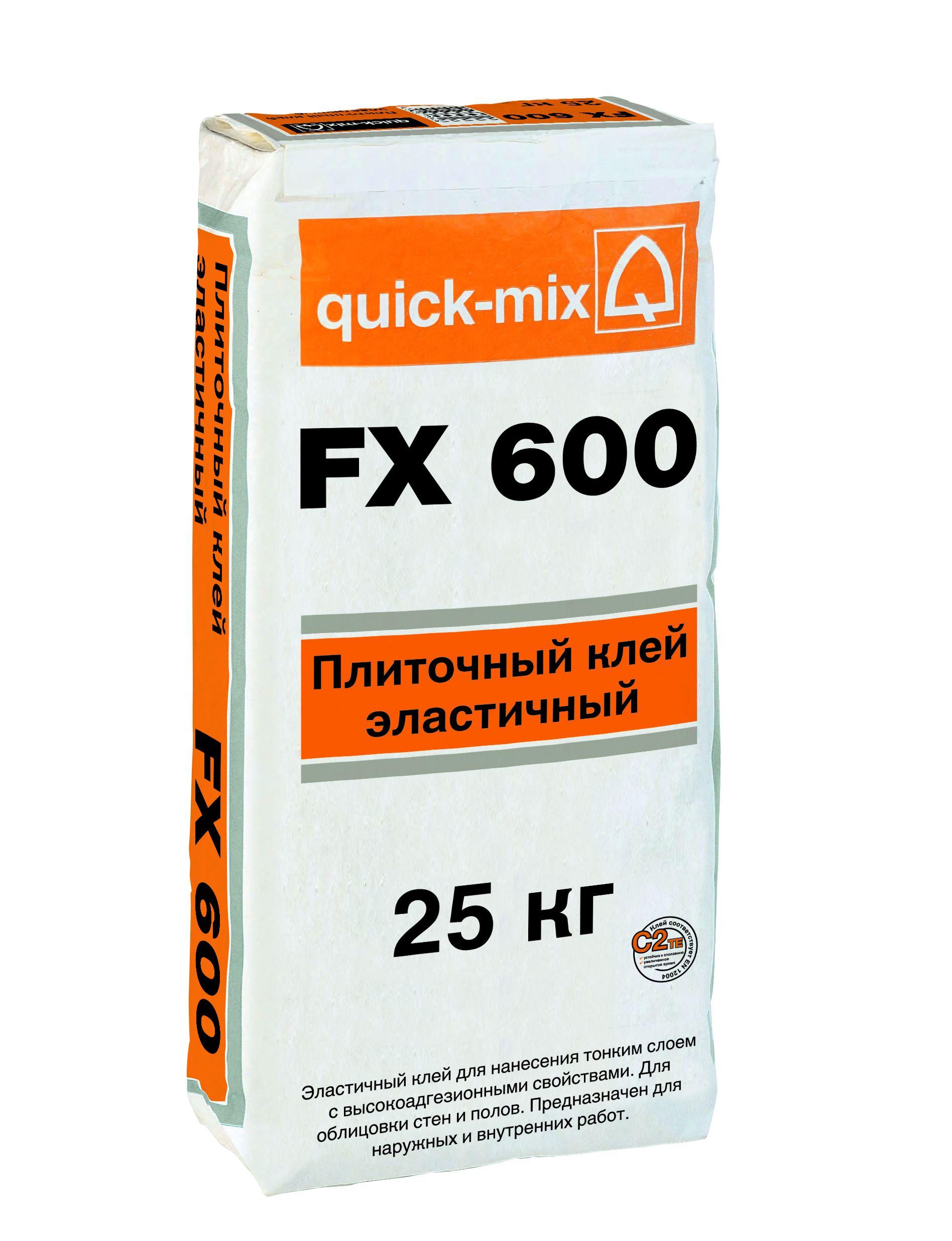Плиточный клей FX 600