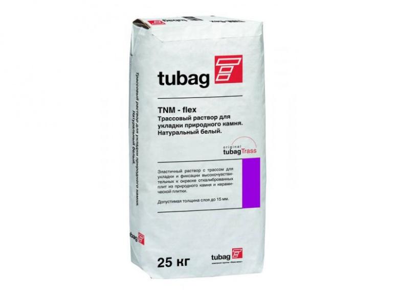TNH-flex трассовый раствор шлам для повышения адгезии природного камня