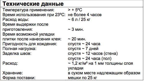 FK 300 Quick Mix характеристики